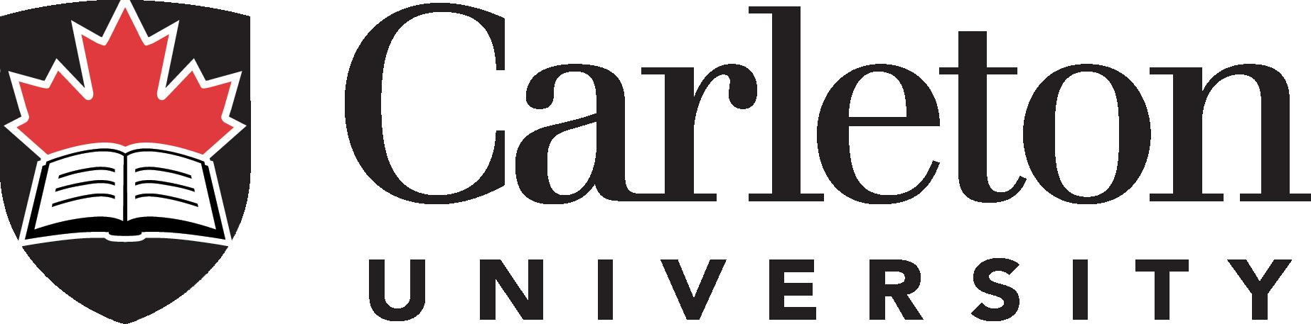 Carleton University logo - for Phils Sponsorship